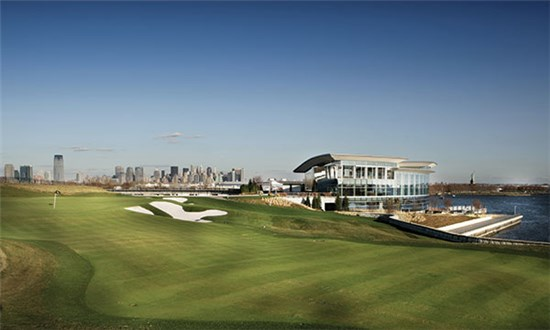 The Clubhouse at Liberty National Golf Course