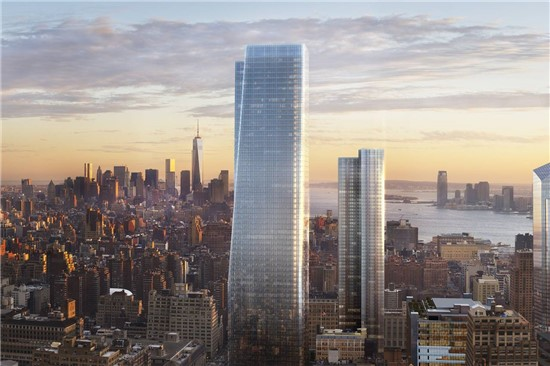 Brookfield Manhattan West SW Residential Tower
