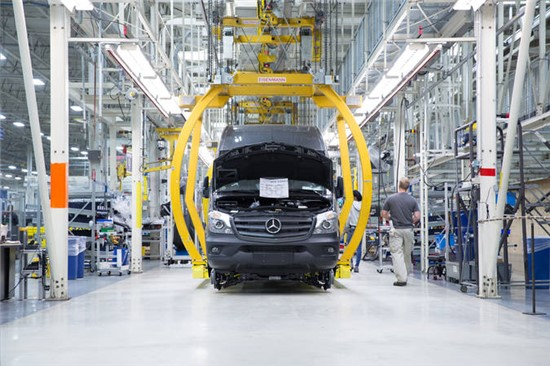 Mercedes-Benz Paint Shop