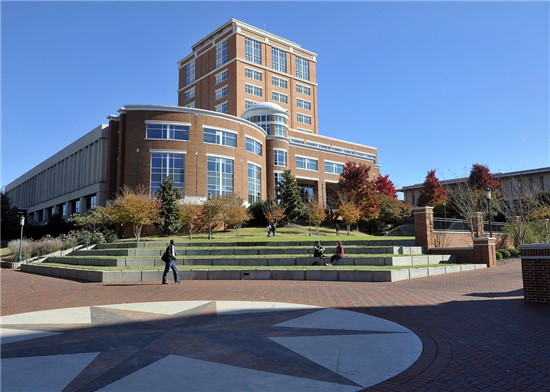 University of North Carolina Charlotte, Atkins Library